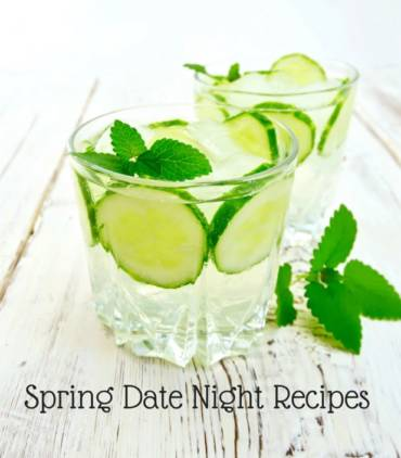 Spring Date Night Menu