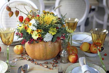 Festive Ways To Set The Table For Thanksgiving