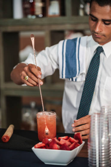 Celebrate A Company Milestone With These Specialty Cocktails & Hors D'oeuvres