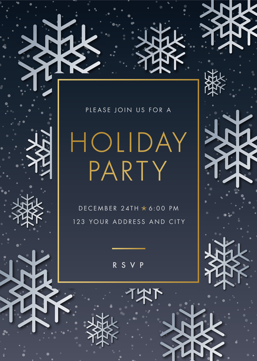 How To Write Holiday Party Invitations