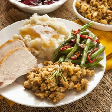 Corporate Lunch Thanksgiving Menu